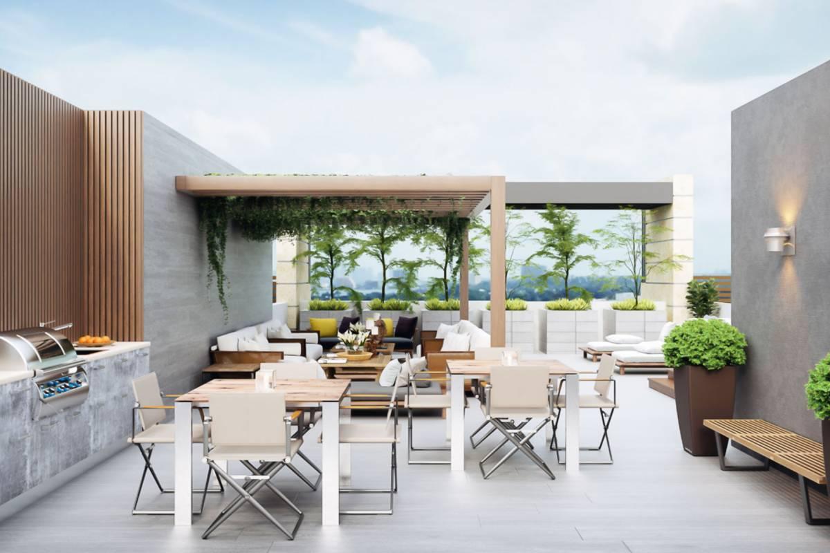 areas comunes de un proyecto inmobiliario