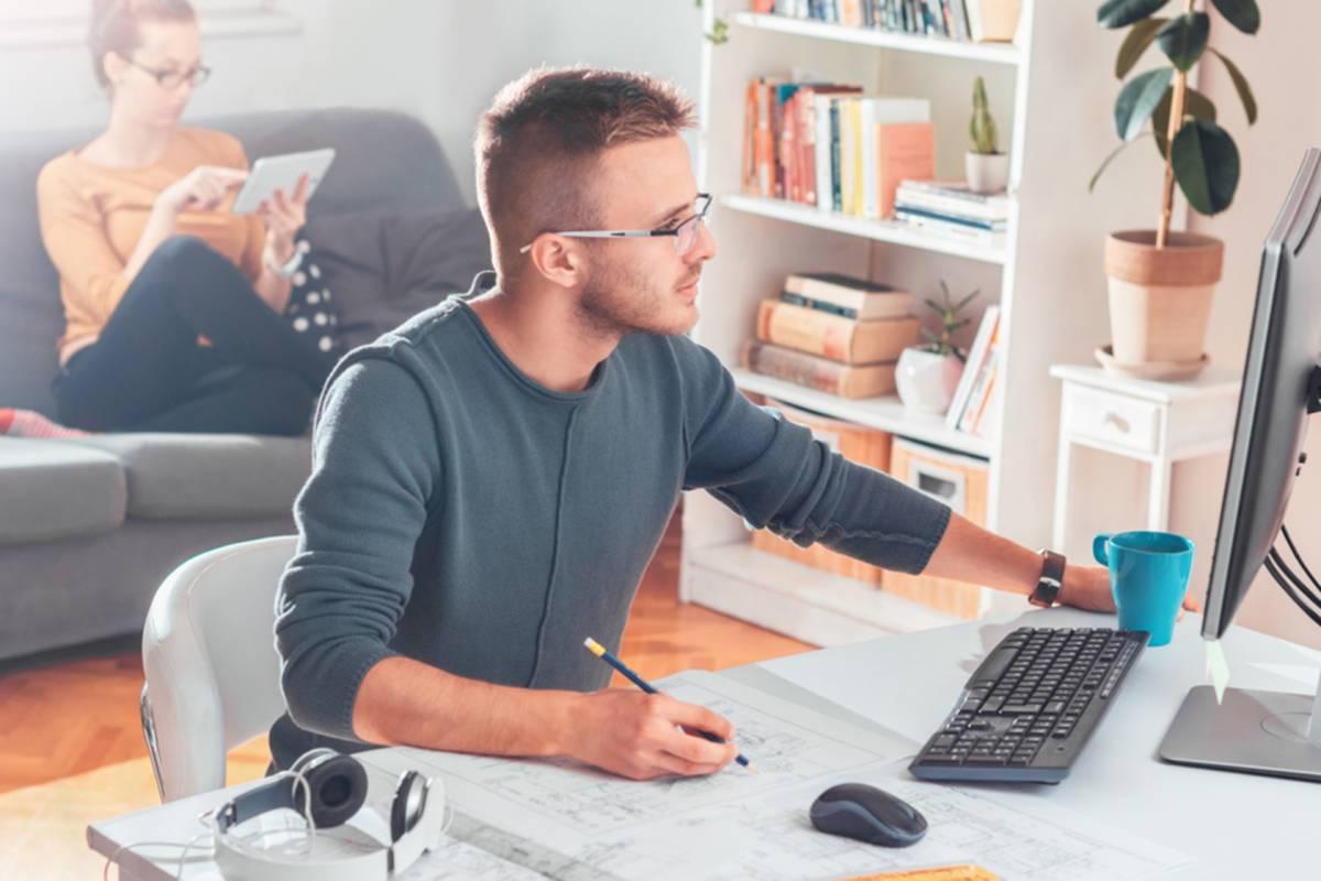 ¿Cómo crear un espacio de oficina en tu casa?