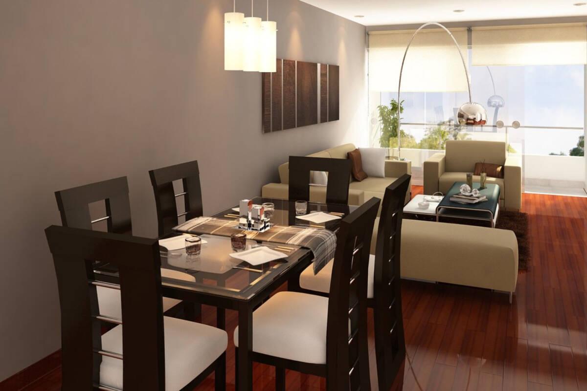 ¿Cómo decorar una sala comedor?
