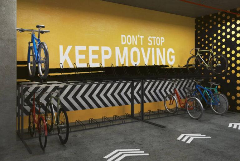 Ventajas de tener un estacionamiento para bicicletas