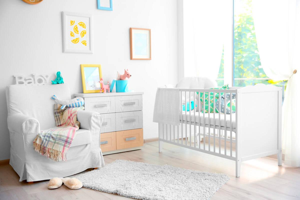 ¿Qué debes comprar para amueblar el cuarto de tu bebé?