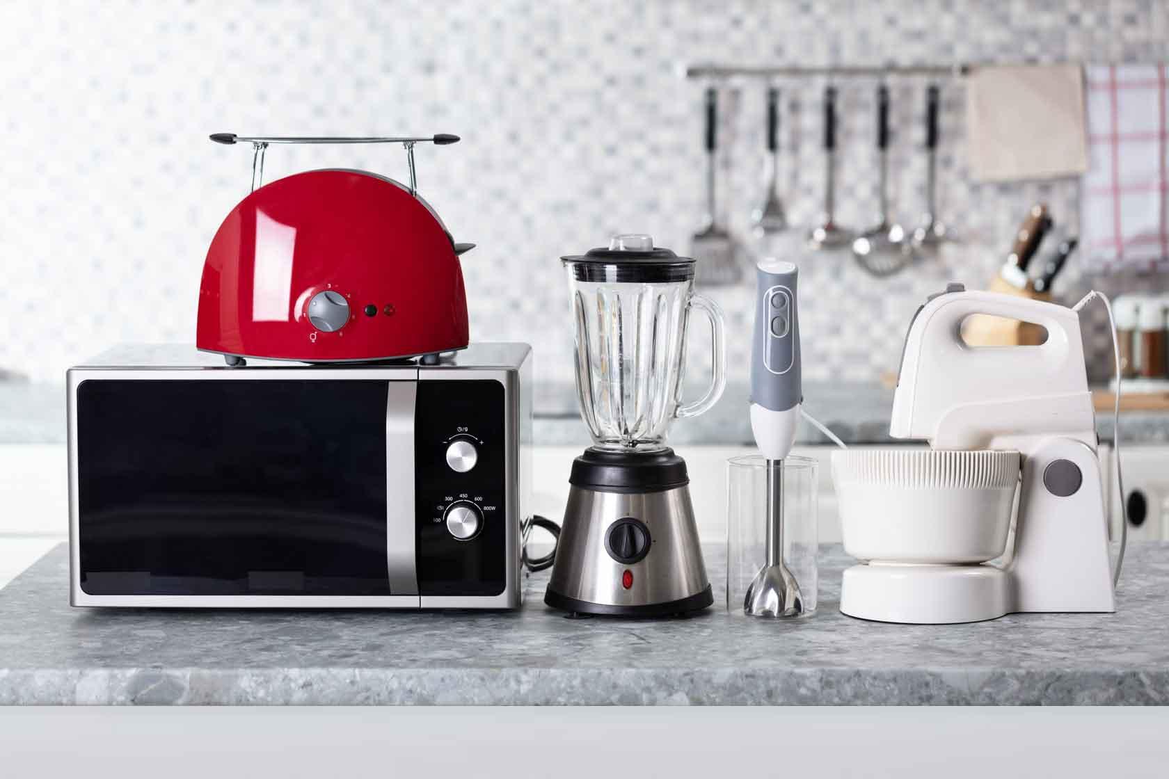 cocina energía electrodomésticos