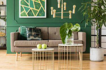 sala color verde feng shui